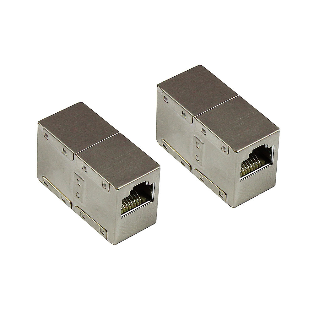 Good Connections Patchkabelkupplung CAT6 RJ45 vollgeschirmt