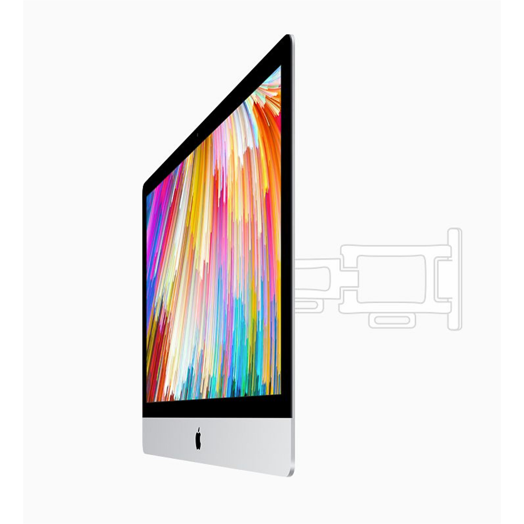 "Apple iMac 27"" Retina 5K 2017 4,2/8/256GB SSD RP575 MM + NUM VESA BTO"