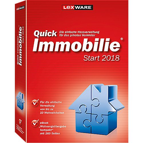 Lexware Quickimmobilie Start 2018, Minibox