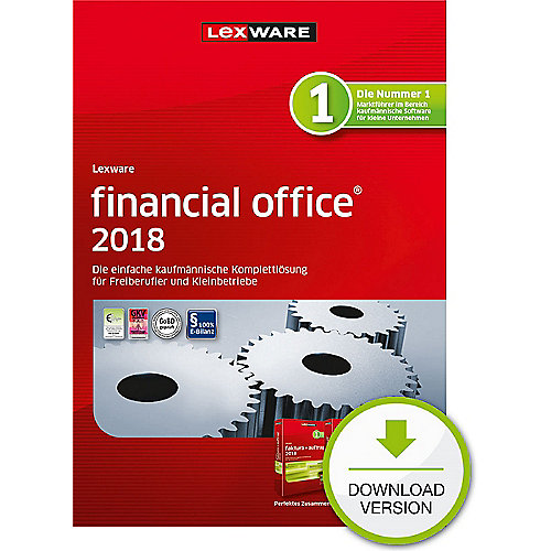 Lexware financial office 2018 Jahresversion (365-Tage), ESD