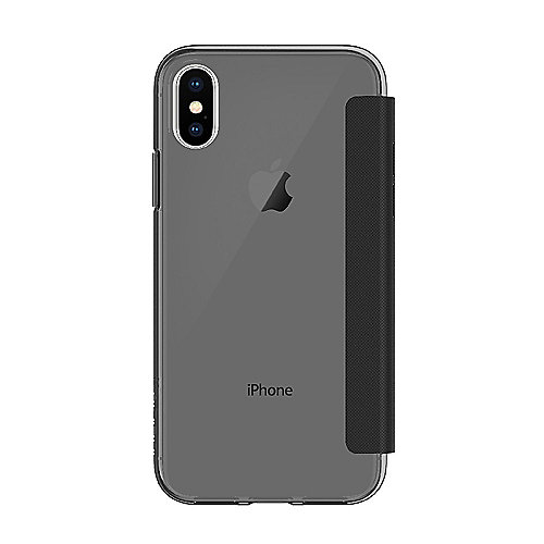 Incipio NGP Folio Case für Apple iPhone X, smoke/schwarz