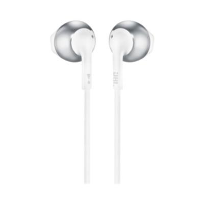 JBL  T205 Chrome – In Ear-Kopfhörer mit Mikrofon   6925281928345