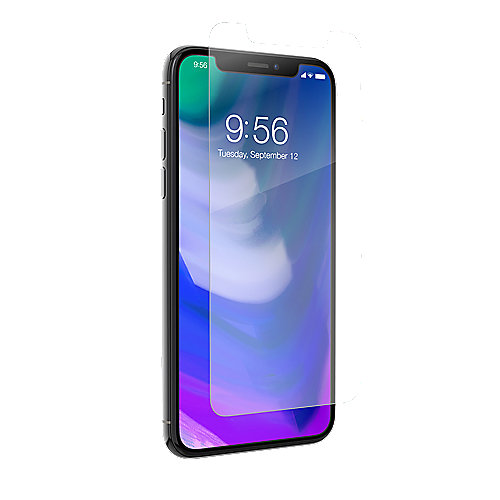 ZAGG InvisibleSHIELD Glass+ Contour für Apple iPhone X, schwarz