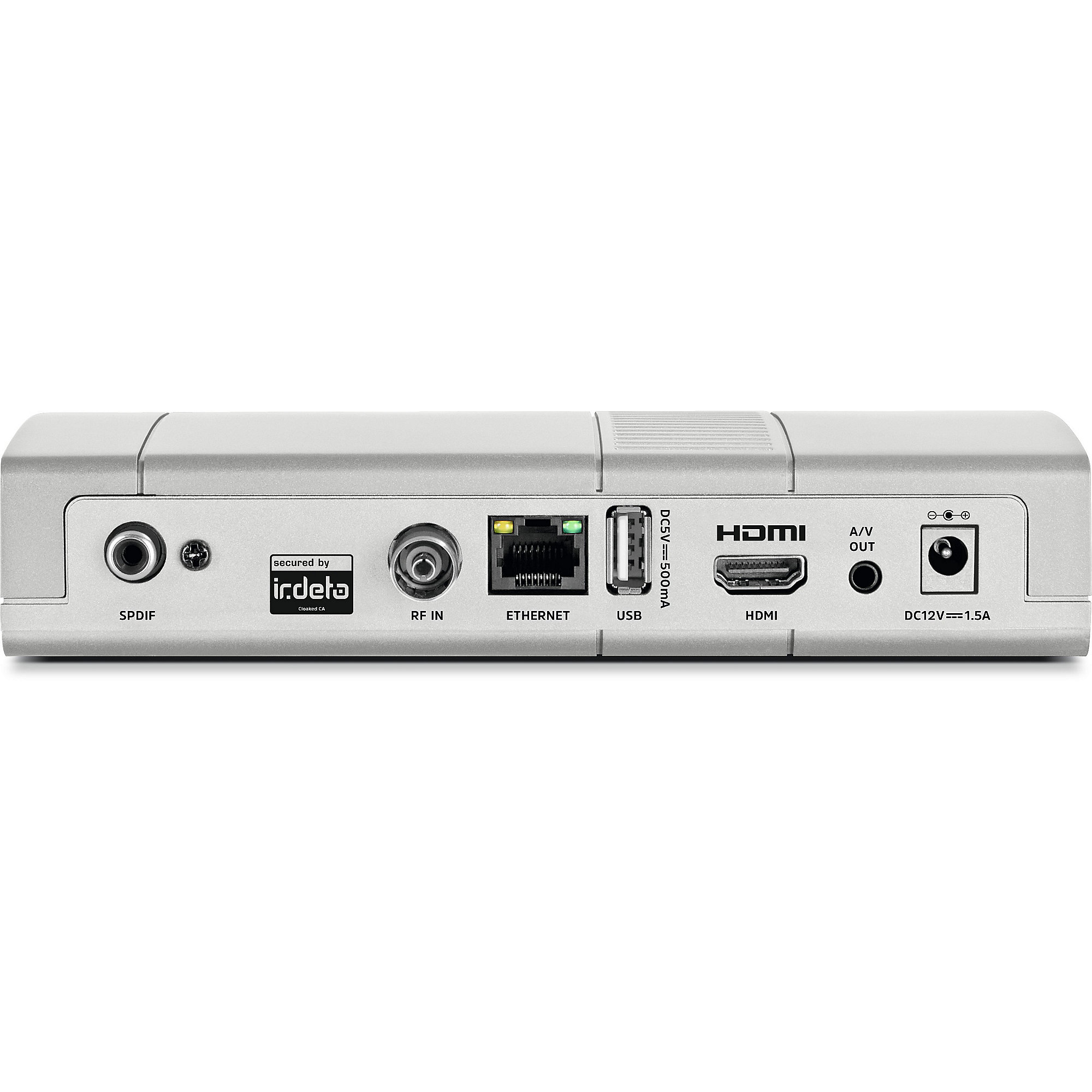 TechniSat Digipal T2 DVR DVB-T2HD Receiver silber Freenet TV