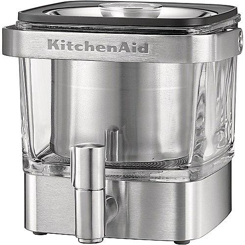 KitchenAid ARTISAN 5KCM4212SX Cold-Brew Kaffeebereiter Silber | 5413184900830