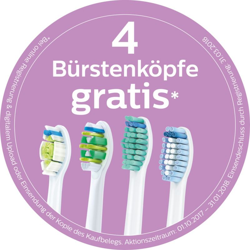 Philips Sonicare HX6311/07 Schallzahnbürste For Kids