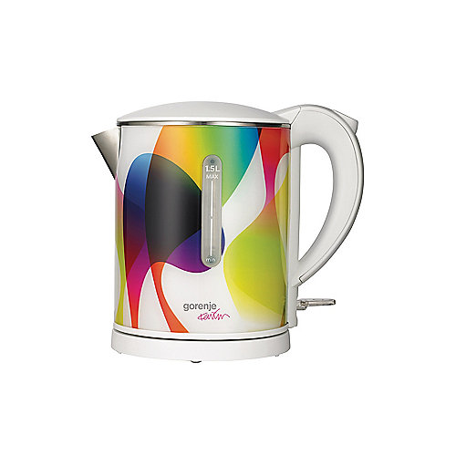 Gorenje K15 KARIM Rashid Wasserkocher 1,5l multicolour   3838782012419