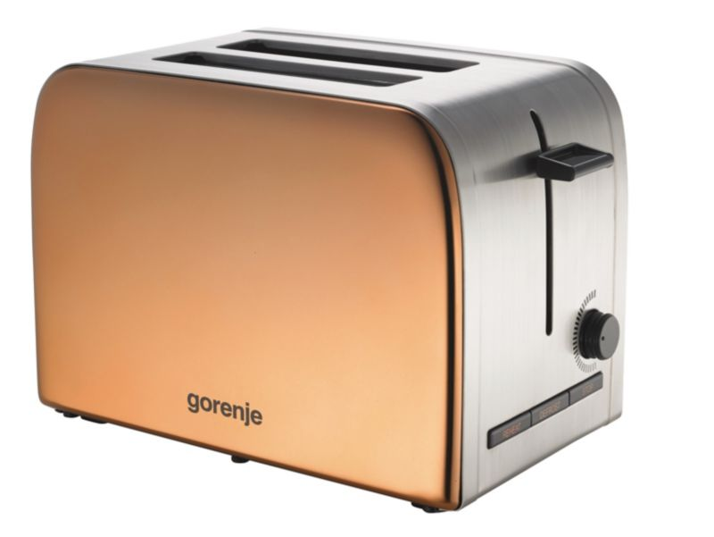Gorenje T1100INF INFINITY Collection Toaster kupfer-edelstahl