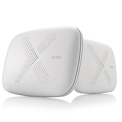 Zyxel WSQ50 Multy X AC3000 Tri-Band WLAN System Set (Router + Satellit)