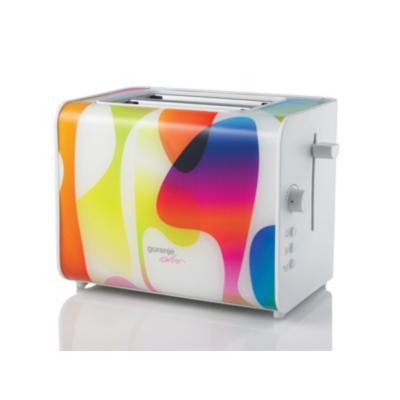 Gorenje  T900 KARIM Rashid Collection Toaster multicolour | 3838782012426