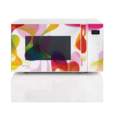 Gorenje  MO20 KARIM Rashid Collection Mikrowelle mit Grill Multicolour | 3838942814860