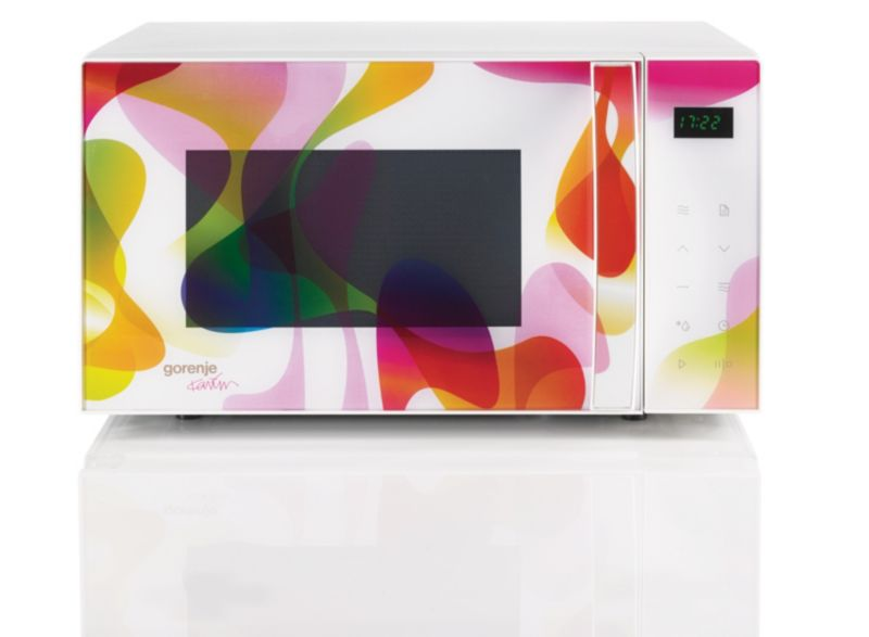Gorenje MO20 KARIM Rashid Collection Mikrowelle mit Grill Multicolour