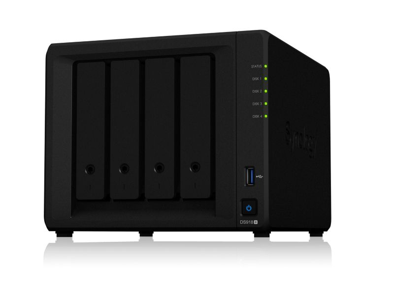 Synology Diskstation DS918+ NAS System 4-Bay