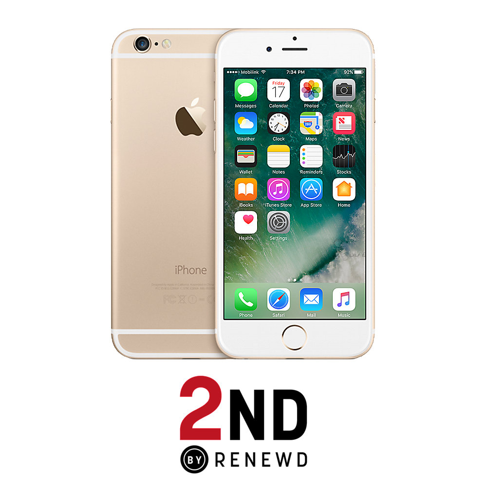 Apple iPhone 6 16 GB Gold 2ND refurbished