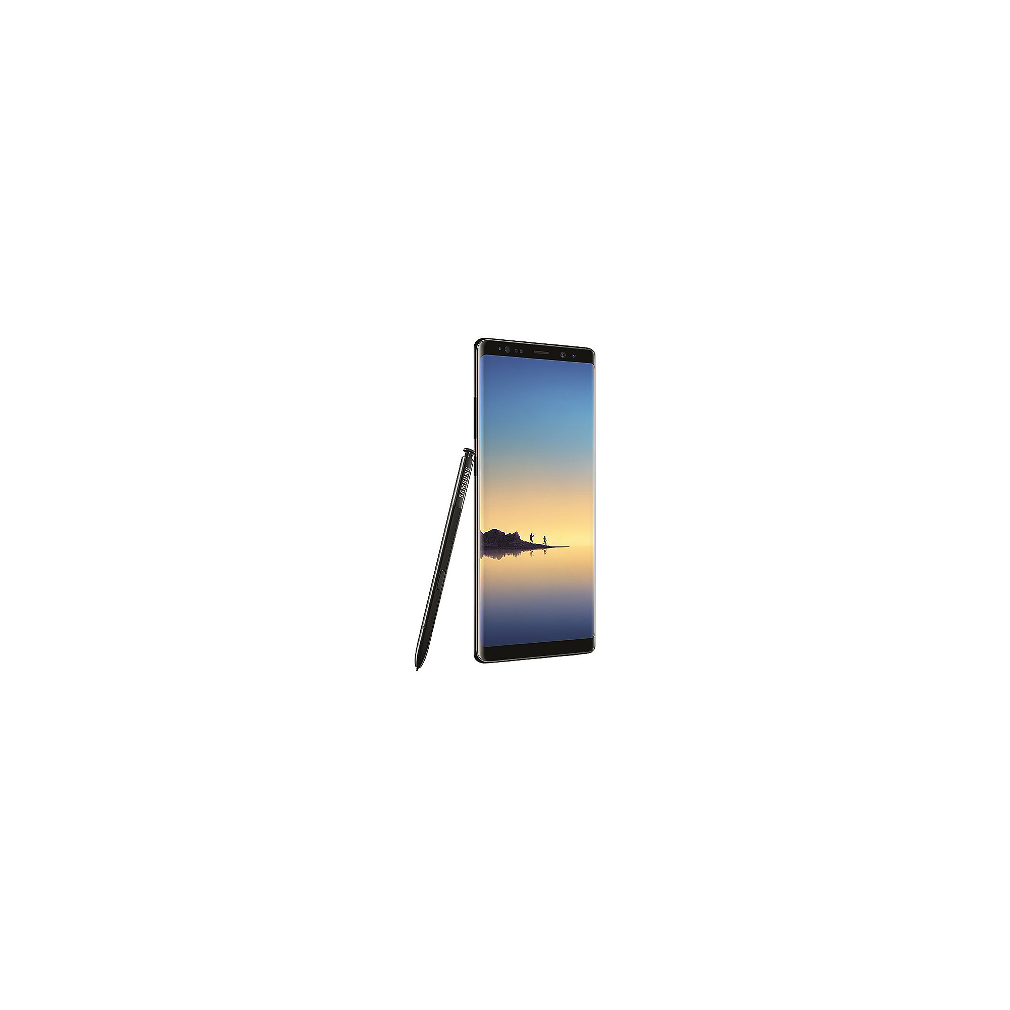 Samsung GALAXY Note 8 midnight black N950F 64 GB Android Smartphone