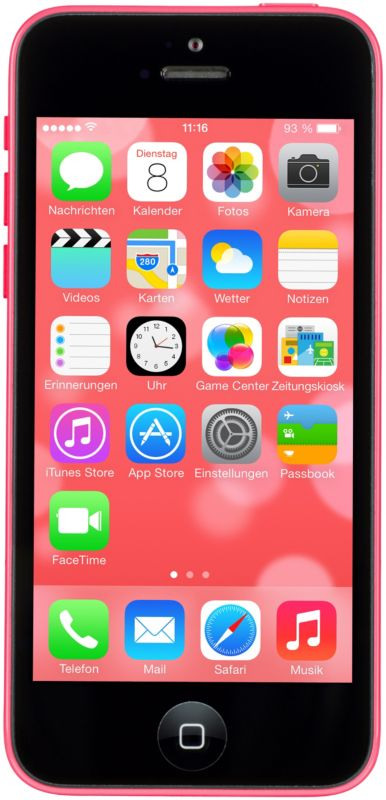 Apple iPhone 5c 16 GB pink