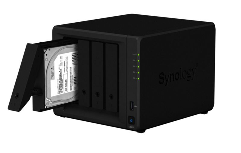 Synology Diskstation DS418 NAS System 4-Bay
