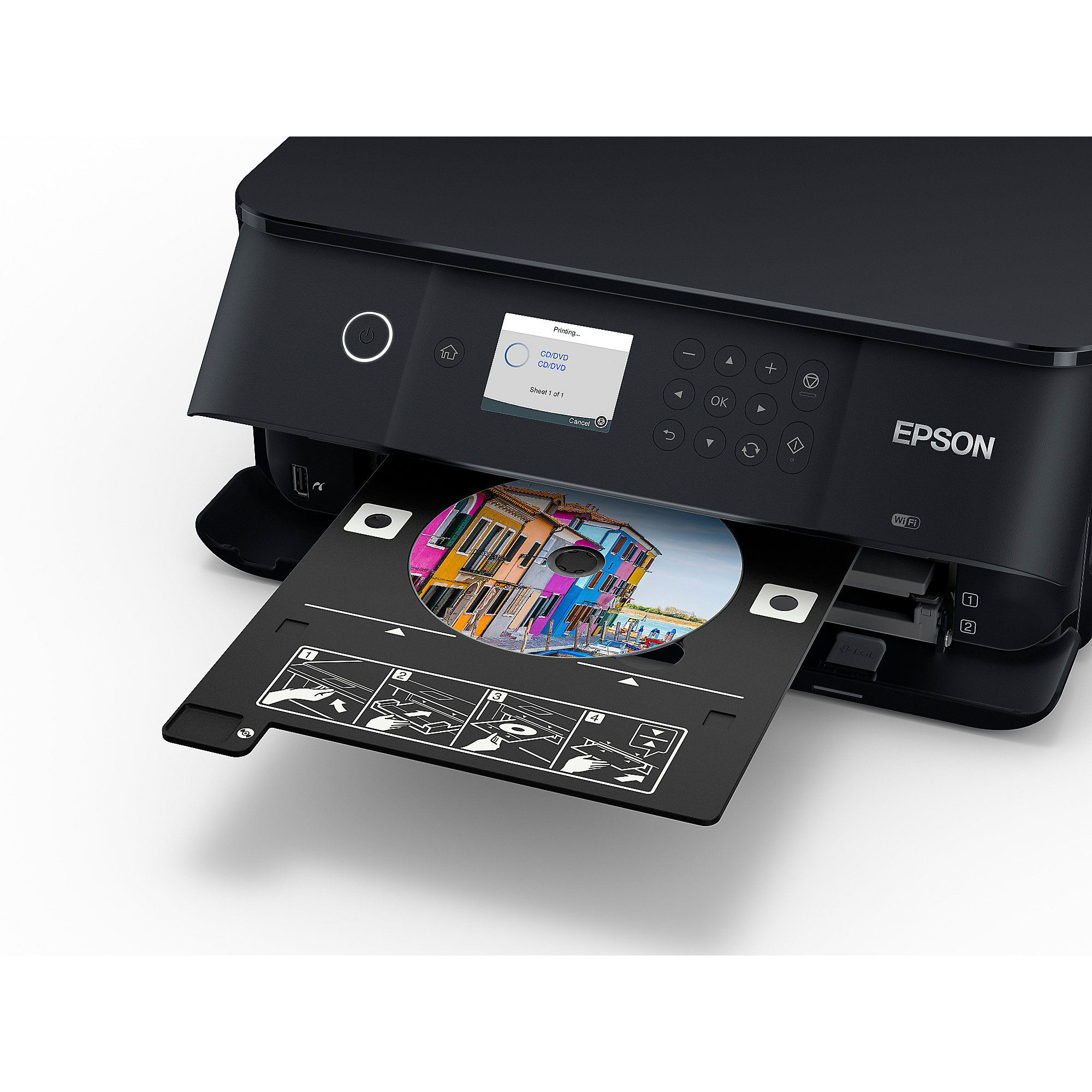 EPSON Expression Premium XP-6000 Multifunktionsdrucker Scanner Kopierer WLAN
