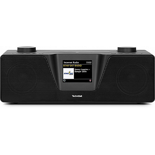 TechniSat DIGITRADIO 510 UKW/DAB+ WLAN Multiroom schwarz