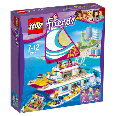 Lego  Friends – Sonnenschein-Katamaran (41317) | 5702015866460