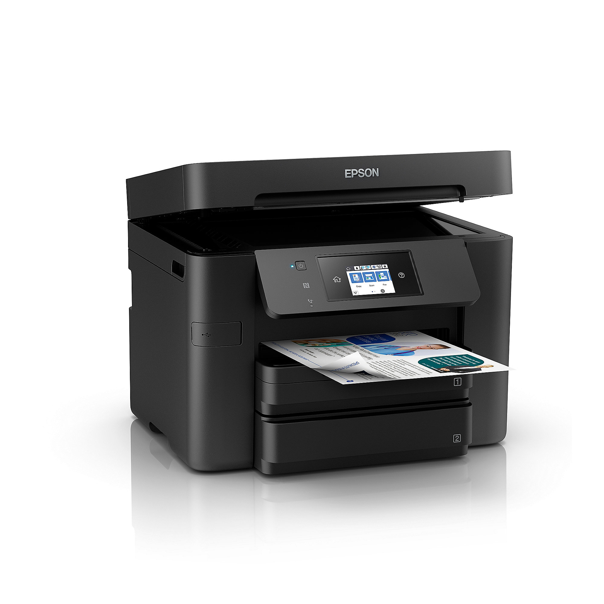 EPSON WorkForce Pro WF-4730DTWF Multifunktionsdrucker Scanner Kopierer Fax WLAN