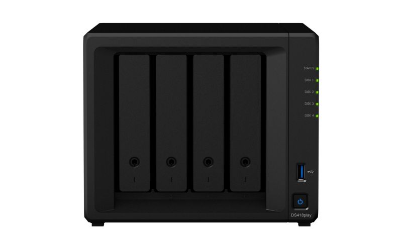 Synology Diskstation DS418play NAS System 4-Bay