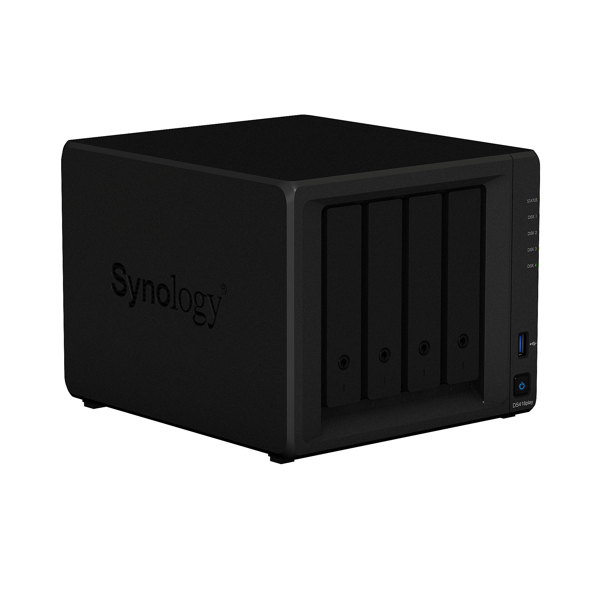 Synology Diskstation DS418play NAS 4-Bay 4TB inkl. 4x 1TB WD RED WD10EFRX