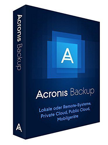 Acronis Backup 12.x Windows Server Essentials + MNT AAP MiniBox DE
