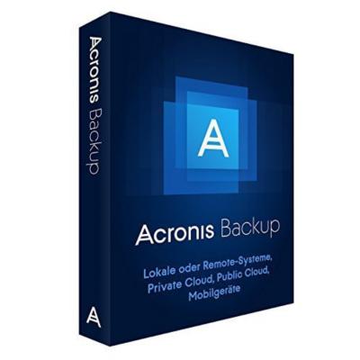 Acronis  Backup 12.x Windows Server Essentials + MNT AAP MiniBox DE   4260019575203