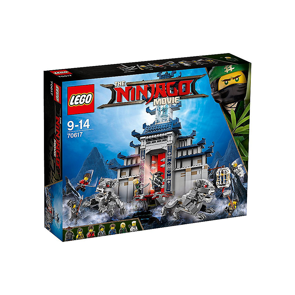 LEGO Ninjago - Ultimativ ultimatives Tempel-Versteck (70617)