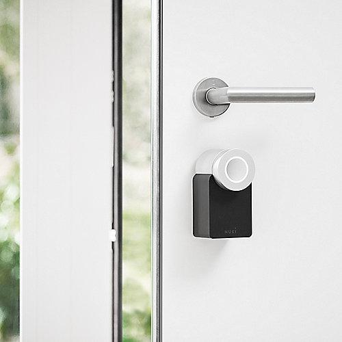 nuki smart lock die smarte erweiterung f r ihr t rschloss cyberport. Black Bedroom Furniture Sets. Home Design Ideas