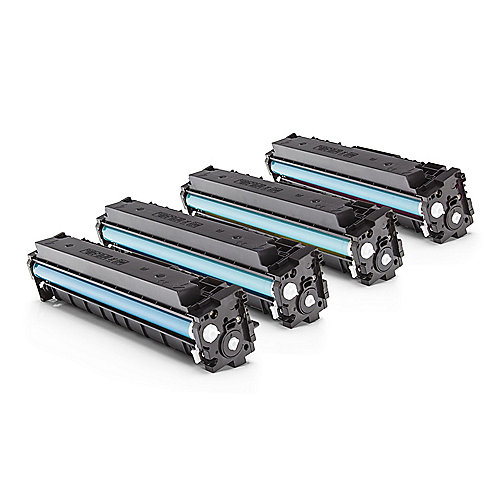 Alternative zu HP CF410A / 410A Toner Spar-Set Multipack (BK, C, M, Y)