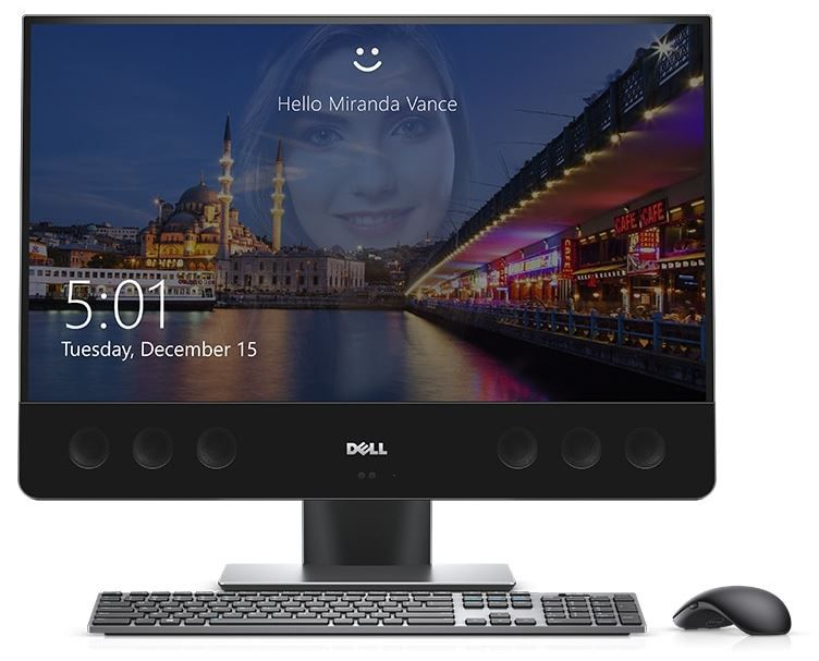 "DELL XPS 7760 AiO i7-7700 16GB/512GB SSD 27"" UHD Touch RX 570 W10"