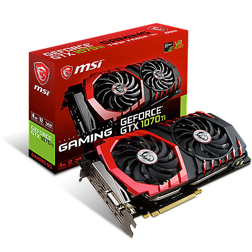MSI GeForce GTX 1070Ti Gaming 8G 8GB GDDR5 Grafikkarte