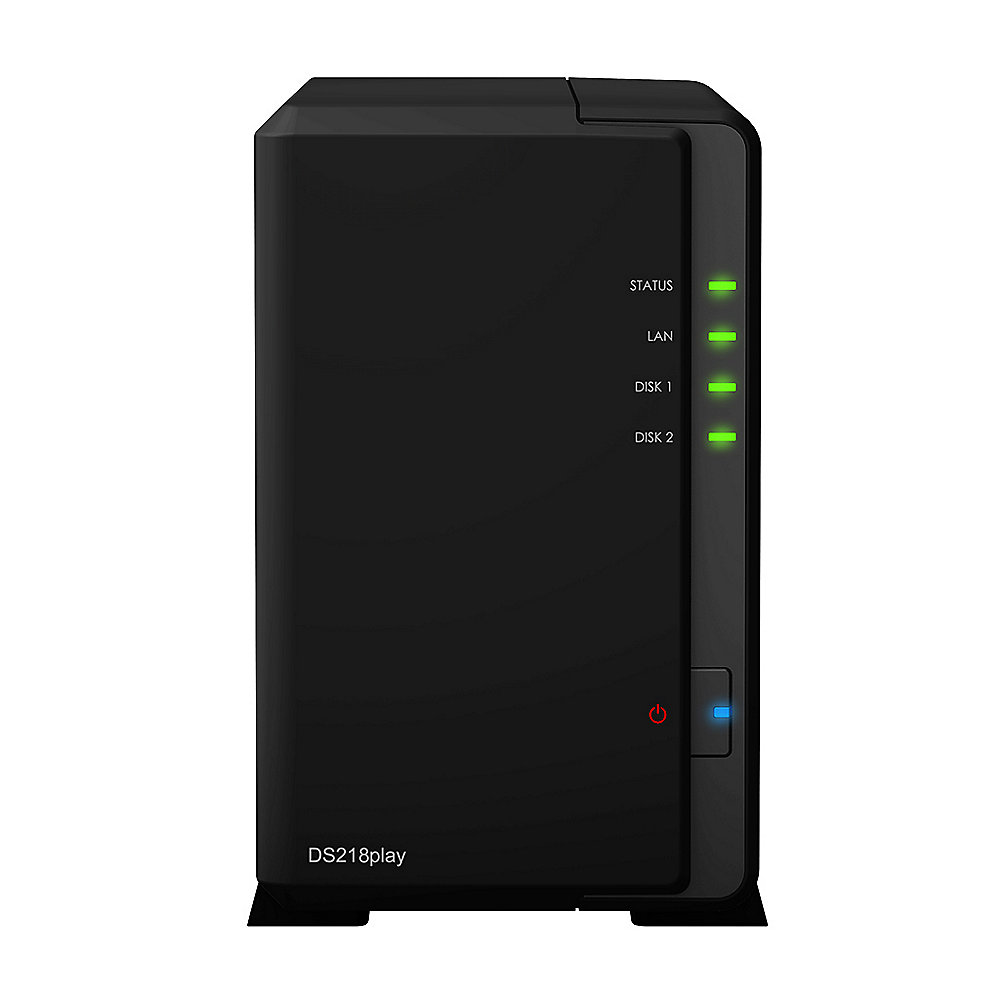 Synology Diskstation DS218play NAS System 2-Bay
