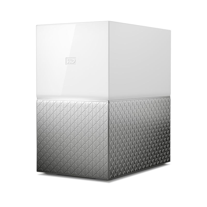 WD My Cloud Home Duo NAS System 2-Bay 4TB inkl. 2x 2TB HDD