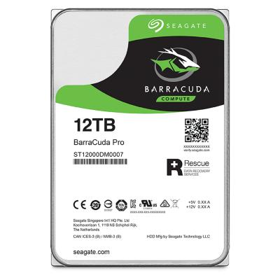 Seagate  BarraCuda Pro HDD ST12000DM0007 – 12TB 7200rpm 3.5zoll | 8592978085254