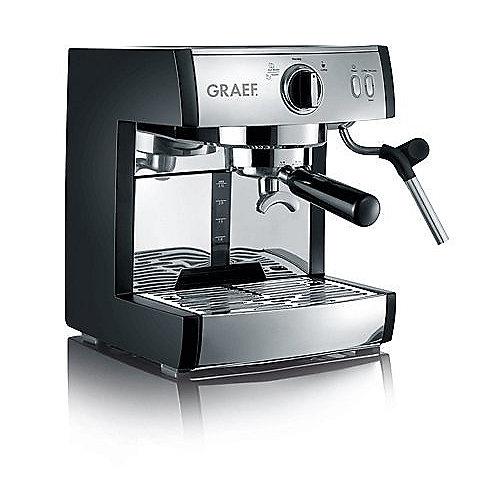 Graef ES702EU01 pivalla Espressomaschine inkl. Kapselsystemhalter schwarz   4001627011383