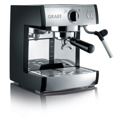 Graef  ES702EU01 pivalla Espressomaschine inkl. Kapselsystemhalter schwarz | 4001627011383