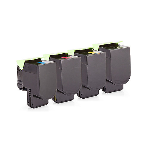 Alternative zu Lexmark 80C2S0 Toner Spar-Set Multipack (BK, C, M, Y)