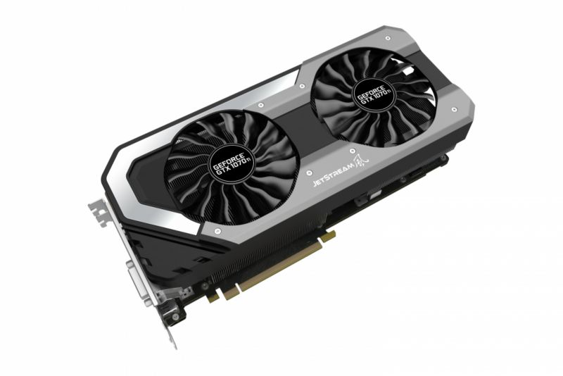 Palit GeForce GTX 1070Ti JetStream 8GB GDDR5 Grafikkarte DVI/HDMI/3xDP