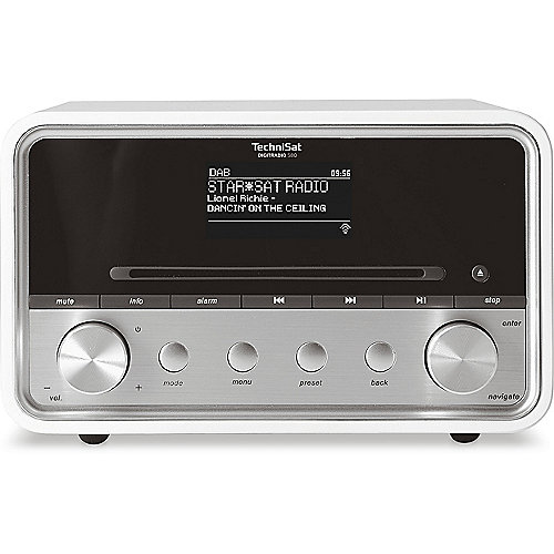 TechniSat DIGITRADIO 580 UKW/DAB+ WLAN CD Multiroom weiß