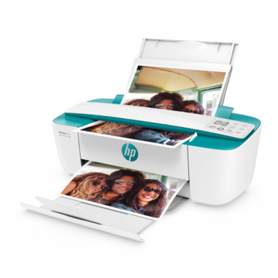 HP  DeskJet 3735 grün Tintenstrahl-Multifunktionsdrucker Scanner Kopierer WLAN | 0190781996569