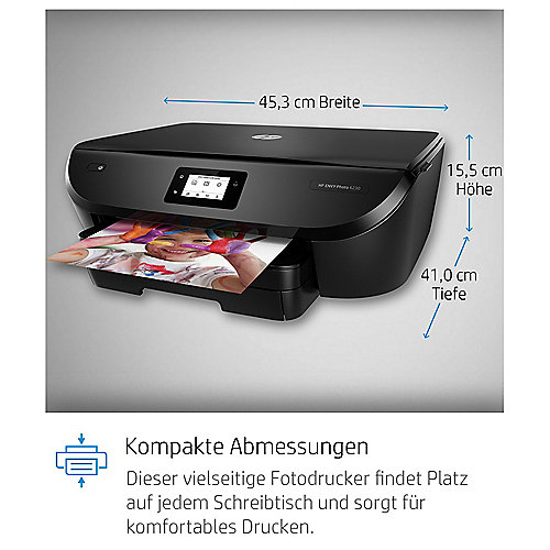Hp Envy Photo 6230 Tintenstrahl Multifunktionsdrucker Scanner Kopierer Wlan