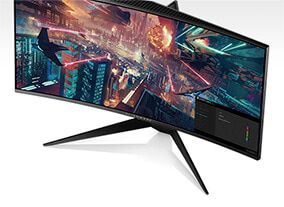 "DELL Alienware AW3418DW 86,4cm (34"") 21:9 UWQHD Gaming Monitor HDMI/DP/USB 120Hz"