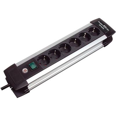 Brennenstuhl  Steckdosenleiste Premium-Alu-Line 6fach 3m 1391000016 | 4007123141586