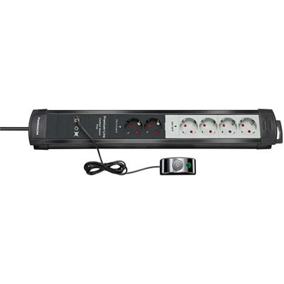 Brennenstuhl  Premium-Line Comfort Switch Plus Steckdosenleiste 6-fach schwarz | 4007123574612