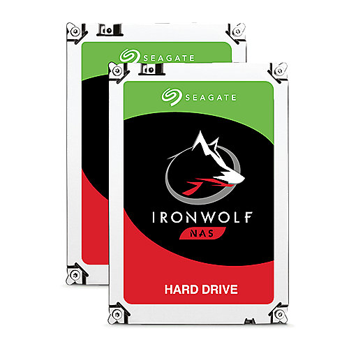 Seagate 2er Set IronWolf NAS HDD ST6000VN0033 - 6TB 7200rpm 128MB 3.5zoll