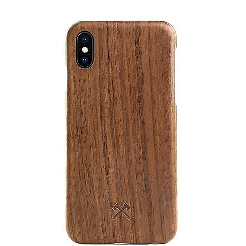 Woodcessories EcoCase Cevlar für iPhone X walnuss
