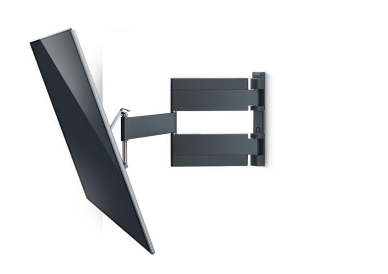 vogels thin 445 neig schwenkbare wandhalterung vesa bis 400x400 mm schwarz cyberport. Black Bedroom Furniture Sets. Home Design Ideas